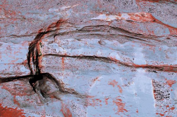 Photograph - Art Print Cliff 23 by Harry Gruenert