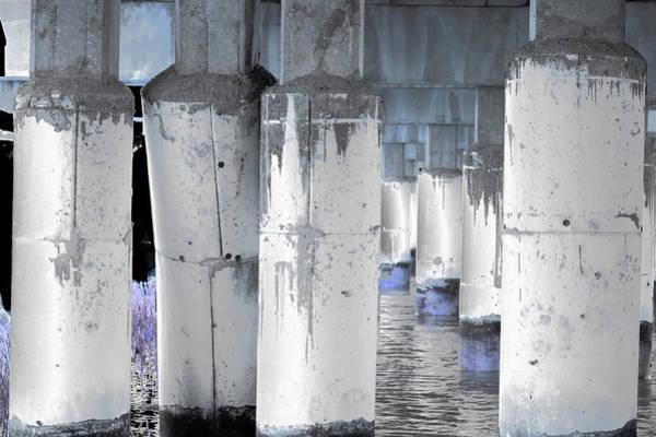 Photograph - Art Print Columns 11 by Harry Gruenert