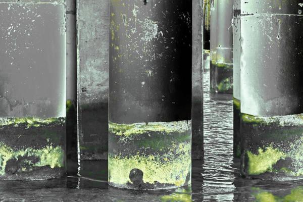 Photograph - Art Print Columns 9 by Harry Gruenert