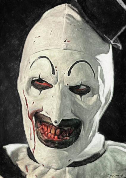 Wall Art - Painting - Art The Clown by Zapista Zapista