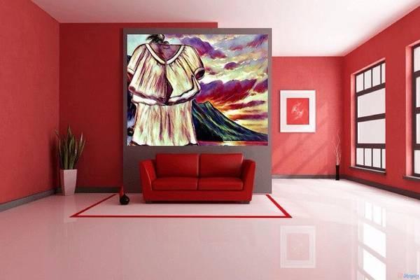 Digital Art - Art Used As Interior Design by Debra Lynch