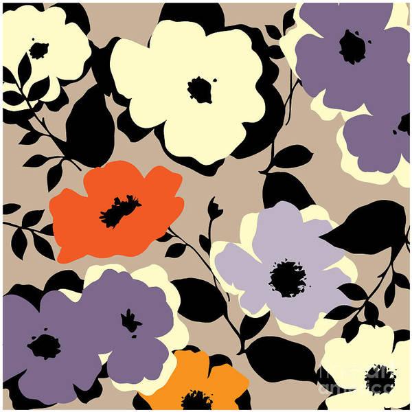 Art Form Digital Art - Art Vintage Floral Background by Irina qqq