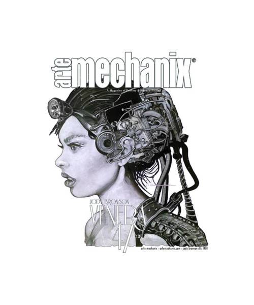 Mixed Media - arteMECHANIX 1901 VENERA47 Pt.1 GRUNGE by Jody Bronson