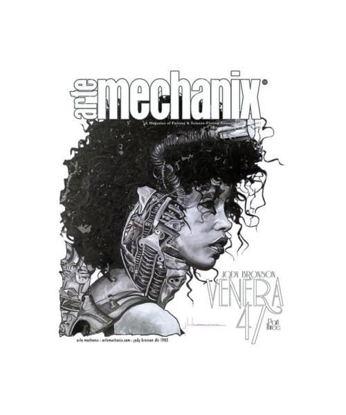 Mixed Media - arteMECHANIX 1903 VENERA47 Pt.3 GRUNGE by Jody Bronson