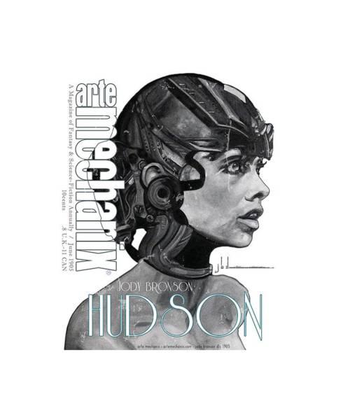 Mixed Media - arteMECHANIX 1905 HUDSON GRUNGE by Jody Bronson