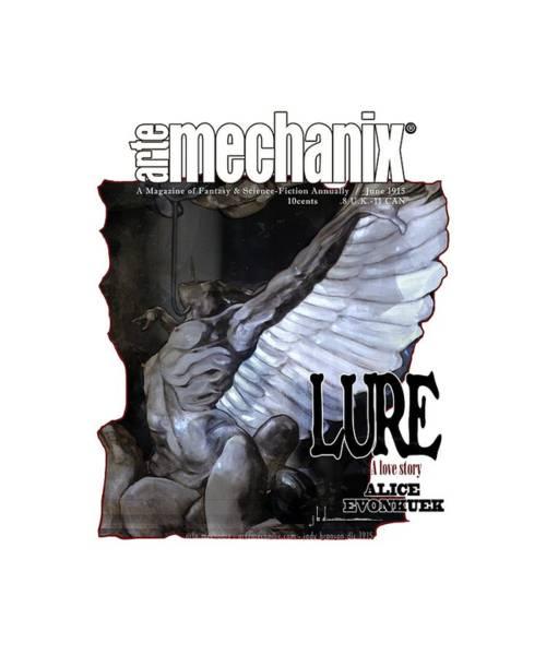 Mixed Media - arteMECHANIX 1915 LURE GRUNGE by Jody Bronson