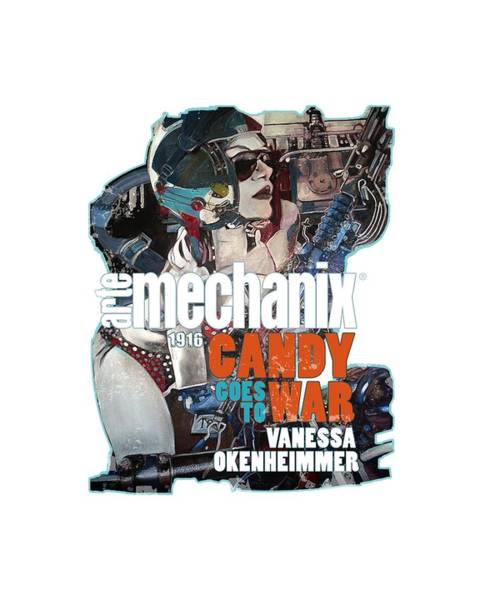 Mixed Media - arteMECHANIX 1916 CANDY GOES TO WAR  GRUNGE by Jody Bronson