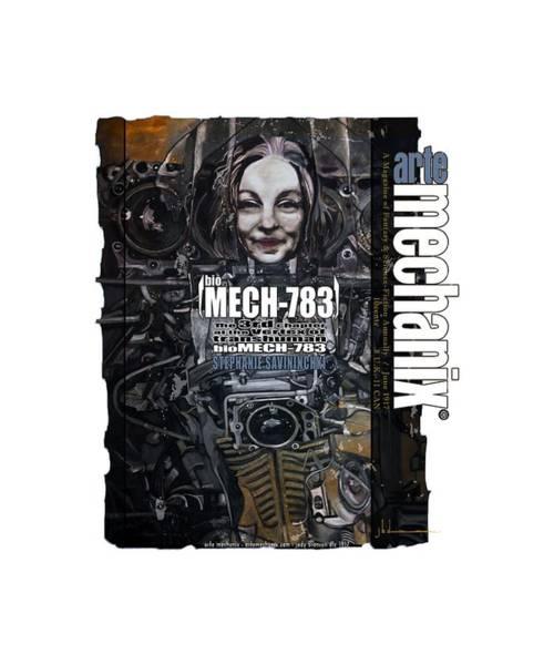 Mixed Media - arteMECHANIX 1917 BioMECH-783 GRUNGE by Jody Bronson