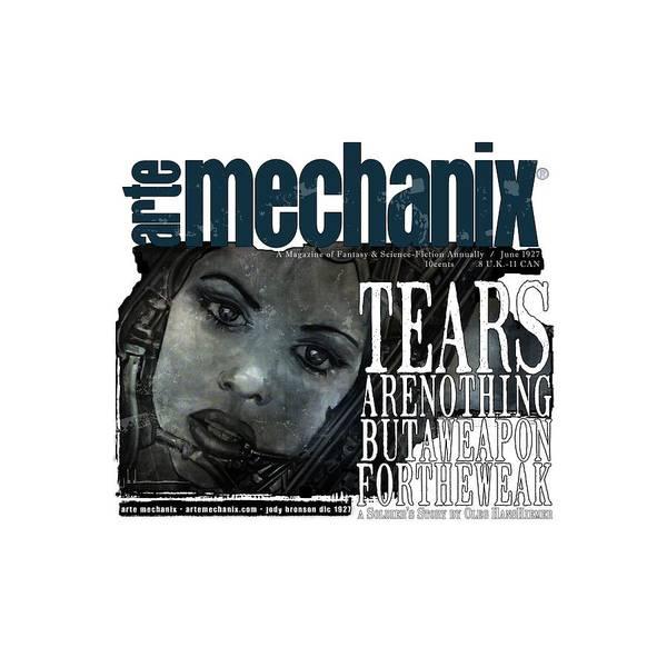 Mixed Media - arteMECHANIX 1927 A WEAPON FOR THE WEAK  GRUNGE by Jody Bronson