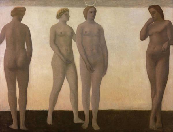 Wall Art - Painting - Artemis - Digital Remastered Edition by Vilhelm Hammershoi