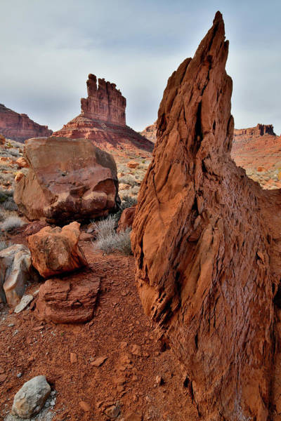 Photograph - Artful Boulders In Valley Of The Gods by Ray Mathis