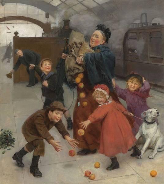 Wall Art - Painting - Arthur John Elsley - More Haste, Less Speed  1899  by Arthur John Elsley