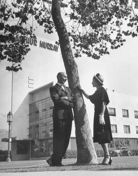 Wife Photograph - Arthur Murray & Wife by Peter Stackpole