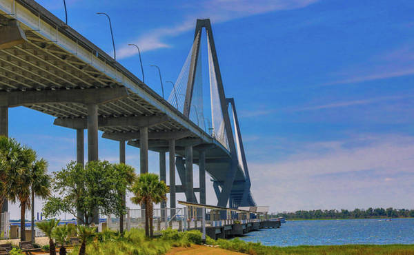 Photograph - Arthur Ravenel Jr. Bridge by Dan Sproul