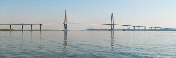 South Carolina Photograph - Arthur Ravenel Jr Bridge Over Cooper by Thepixelchef