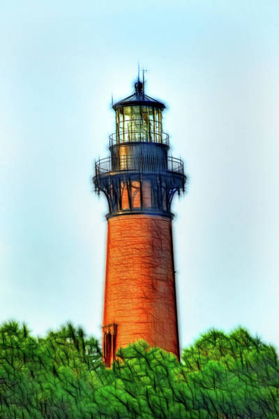 Photograph - Artistic II Lighthouse-currituck Nc by Don Johnson