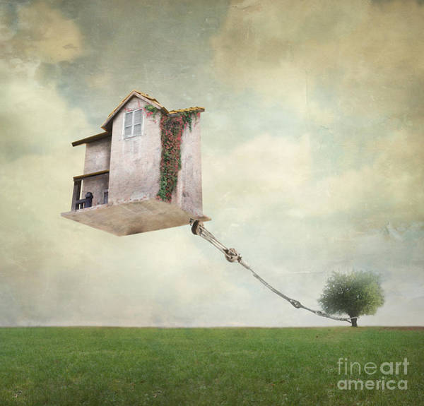 Float Wall Art - Photograph - Artistic Image Representing An House by Valentina Photos