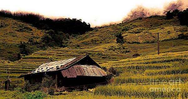 Wall Art - Photograph - Artistic Landscape Sapa Vietnam  by Chuck Kuhn