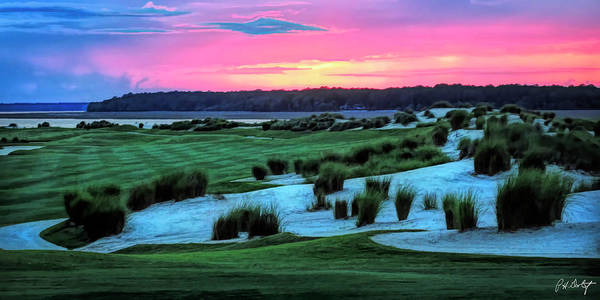 Lowcountry Digital Art - Artistic May Evening On 18 by Phill Doherty