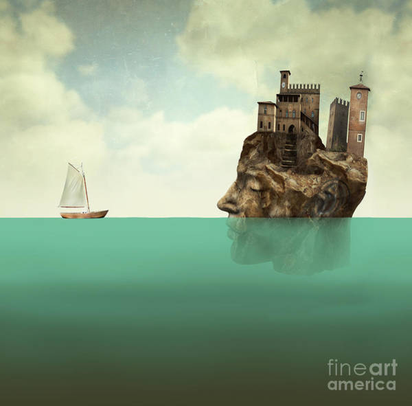 Wall Art - Digital Art - Artistic Surreal Illustration by Valentina Photos