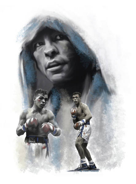 Painting - Arturo Gatti Spirit Warrior  by Iconic Images Art Gallery David Pucciarelli