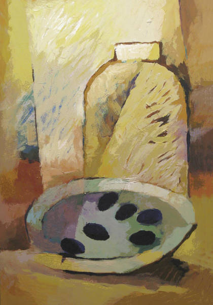 Painting - Arty Cuisine by Lutz Baar