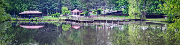 Wall Art - Photograph - Arundel Golf Park Pond Pano by Brian Wallace