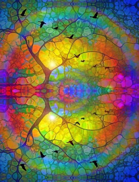 Digital Art - As I Fall Asleep I Can Hear The Whisper Of Wings by Tara Turner
