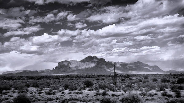 Wall Art - Photograph - As The Clouds Float On By The Supes In Black And White  by Saija Lehtonen