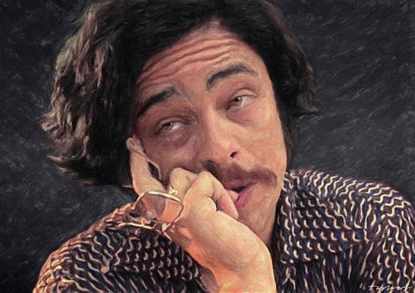Johnny Depp Painting - As Your Attorney I Advise You by Zapista Zapista