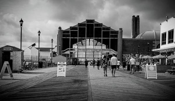 Photograph - Asbury Park Boardwalk by Steve Stanger