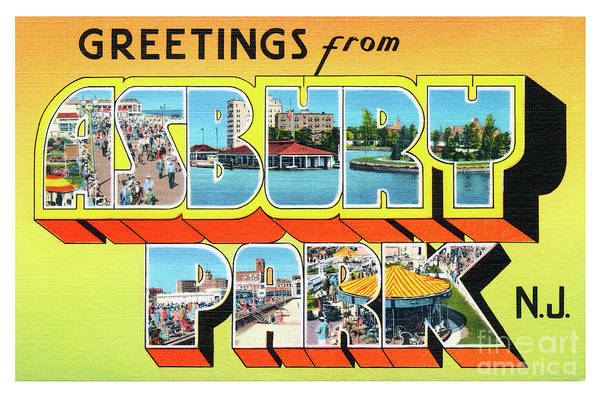 Photograph - Asbury Park Greetings #3 by Mark Miller