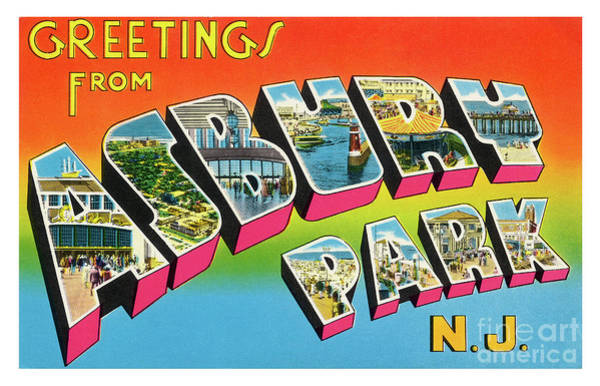 Photograph - Asbury Park Greetings #4 by Mark Miller