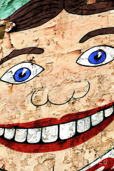 Wall Art - Photograph - Asbury Park Tillie Smile Mural by John Rizzuto