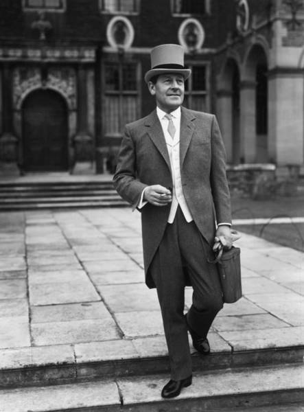 Top Hat Photograph - Ascot Man by Chaloner Woods