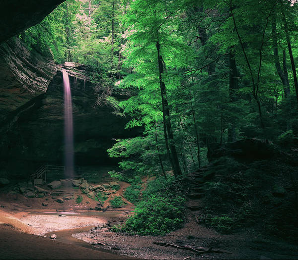 Photograph - Ash Cave Hocking Hills by Dan Sproul