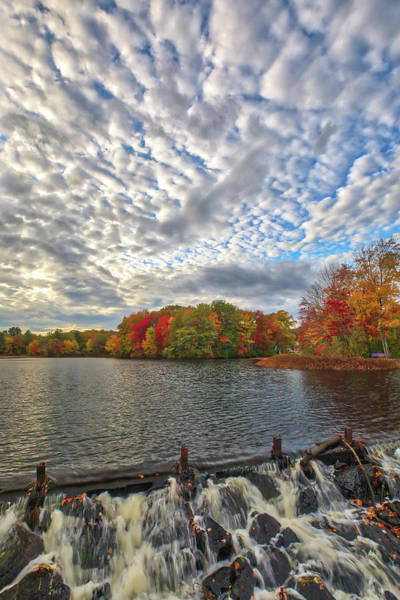 Photograph - Ashland Mill Pond Dam by Juergen Roth