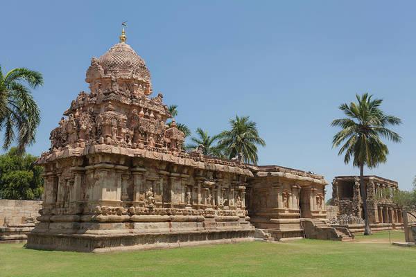 Photograph - Asia, India, Tamil Nadu, Gangaikonda Cholapuram, Brihadisvara Temple by Maria Heyens