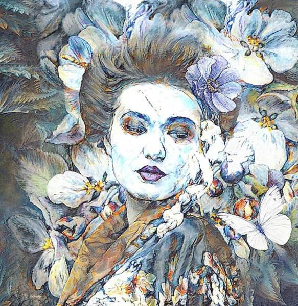 Geisha Mixed Media - Asian Beauty 0043 by G Berry