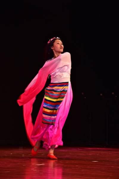 Photograph - Asian Dancer #2 by Jeffrey PERKINS