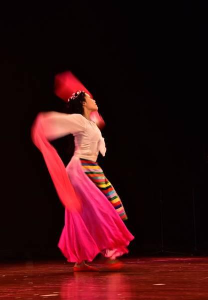 Photograph - Asian Dancer by Jeffrey PERKINS