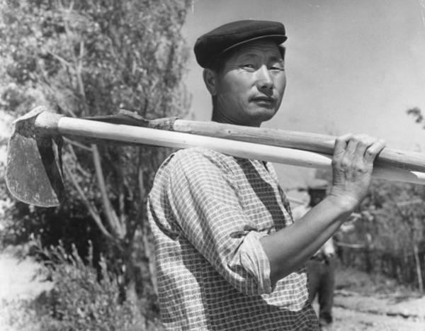 Farm Photograph - Asian Farmer by Keystone Features