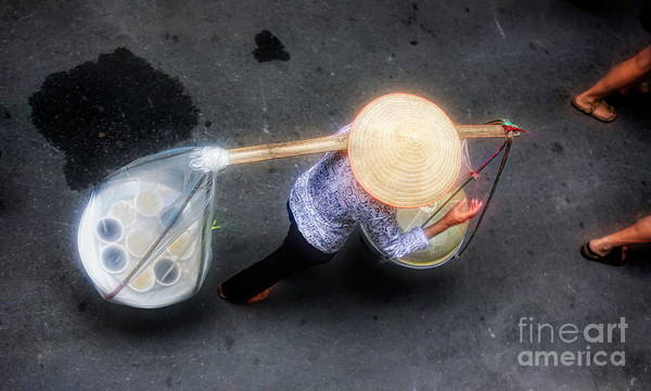 Wall Art - Photograph - Asian Flare Vietnam  by Chuck Kuhn