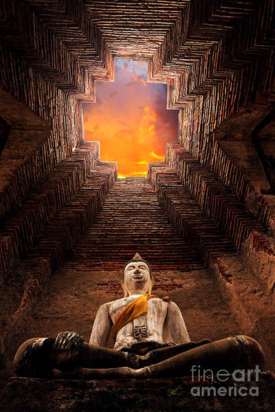 Ancient Architecture Photograph - Asian Religious Architecture. Ancient by Santiphotoss