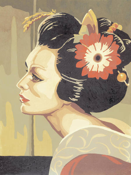 Asian Woman Art Print