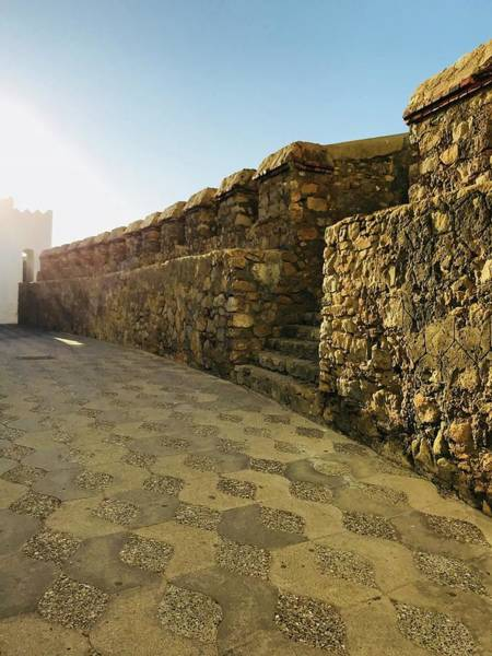 Asilah Wall Art - Photograph - Asilah Fortress by Winter Nicole Monroe
