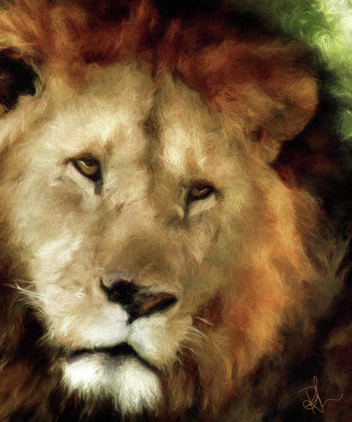Digital Art - Aslan by Pennie McCracken