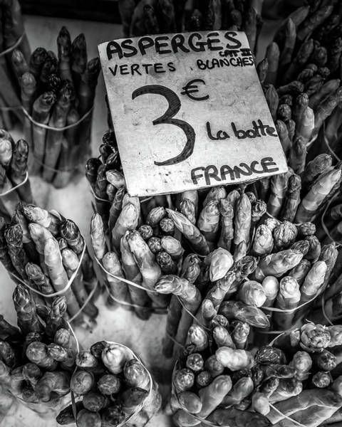 Photograph - Asparagus At The French Market by Georgia Fowler