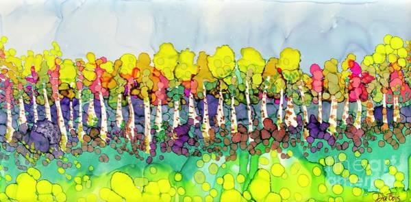 Painting - Aspen Autumn by Lisa DuBois