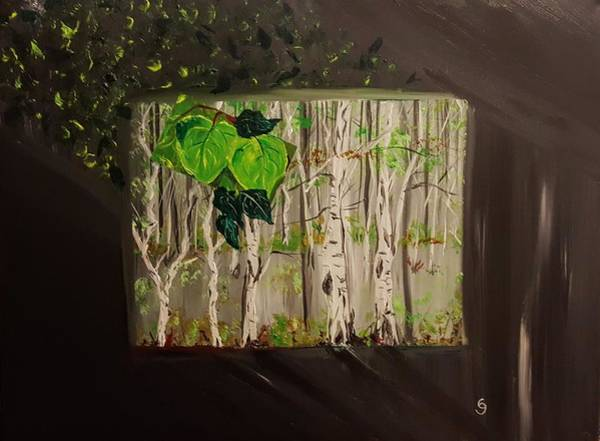 Painting - Aspen Box                   5319 by Cheryl Nancy Ann Gordon